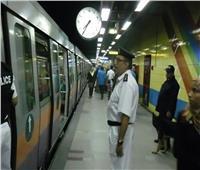 ضبط سيدة تبيع الملابس النسائية داخل مترو الأنفاق