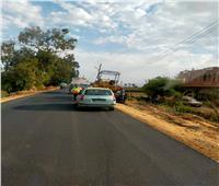 محافظ أسيوط: استكمال أعمال رصف طريق «ساو-أمشول» بمركز ديروط