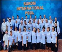 شباب وشابات السباحة يخطفوا الأنظار بالبطولة الأفريقية