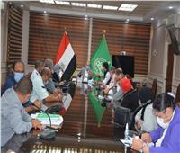 بدء المرحلة الثانية لتطوير شارع فريد ندا بمدينة بنها