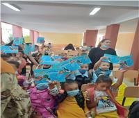 حملات للتوعية بمخاطر كورونا بقرى «حياة كريمة» في المنيا