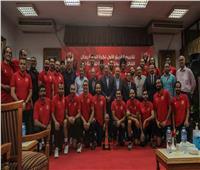 الأهلي يُكرّم «رجال السلة» بعد الفوز بالبطولة العربية
