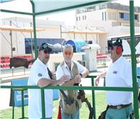 رماة العالم يشيدون بملاعب العاصمة الإدارية وقدرة مصر على استضافة مونديال الأطباق المروحية