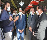 محافظ المنيا يبحث مع رئيس هيئة تنمية الصعيد زيادة إنتاجية عدد من المشروعات