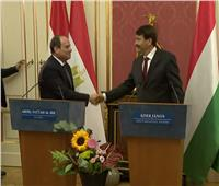 الرئيس المجري: مصر تلعب دورًا كبيرًا في حل النزاع بقطاع غزة