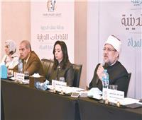 وزير الأوقاف: تمكين المرأة في عهد الرئيس السيسي أفعال لا أقوال