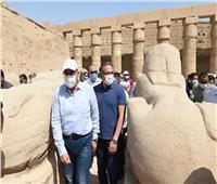 رئيس الوزراء يختتم زيارة الأقصر بمتابعة مشروع إحياء طريق المواكب الكبرى