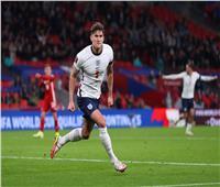 تصفيات مونديال 2022  ستونز يسجل هدف التعادل لإنجلترا في المجر