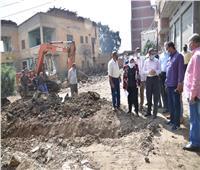 محافظ الغربية يتفقد المشروعات الجاري تنفيذها بـ9 قرى بمركز زفتى