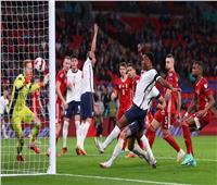 تصفيات مونديال 2022  التعادل يحسم الشوط الأول بين إنجلترا والمجر