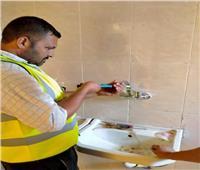مياه سوهاج تنتهي من تركيب القطع الموفرة بجميع مقرات الشركة لترشيد استهلاك المياه