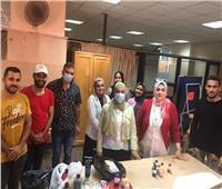 إطلاق مبادرة «جامعتي جميلة» لتزيين منشآت جامعة المنوفية