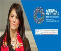 وزيرة التعاون الدولي: مصر تسعى لتصبح رائدة إقليميا في التحول الأخضر