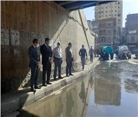 استعدادا لموسم الأمطار.. تنفيذ محاكاه لتصريف المياه بالغربية