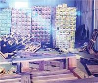 ضبط مخزن مواد غذائية به حلوى منتهية الصلاحية بالإسكندرية