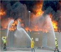 السيطرة على حريق شب داخل مخزن بالمرج