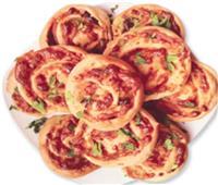 بيتزا رول.. من مطبخ الشيف فاتن عوض