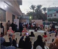 احتفالية بعنوان «المرأة صانعة السلام» بقرية دنجواي بالدقهلية