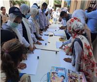 استمرار فعاليات مبادرة طرق الأبواب بقرية الأقواز