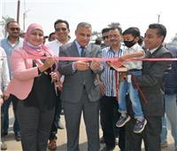 """محافظ سوهاج يفتتح تطوير مدرسة """"عرب بخواج"""" الابتدائية بطهطا"""