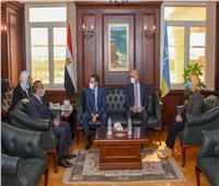 محافظ الإسكندرية يبحث سبل تعزيز التعاون مع سفير فرنسا لدول البحر المتوسط