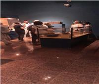 زيارة وفد من السُياح الأسبان لـ«متحف ملوي».. صور