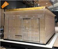 التفاصيل الكاملة لنقل مقصورة توت عنخ آمون إلى المتحف المصري الكبير