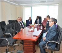 جولات ميدانية للوفد السوداني لمراكز كبار ومتوسطي الممولي بالضرائب