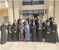 بطريرك الكاثوليك يختتم الرياضة الروحية السنوية لكهنة الإيبارشية البطريركية