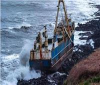 بعد رحلة غامضة.. سفينة الأشباح ترسو في أيرلندا