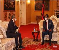 السفير المصري في «ليلنجواي» يُقدّم أوراق اعتماده لرئيس مالاوي