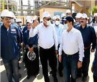 «الملا» يتفقد عدداً من مشروعات التكرير بالمنطقة البترولية بالإسكندرية