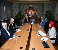وزير الرياضة يلتقي ممثل منظمة «اليونيسيف»