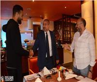 سفير مصر بكينيا يدعو بعثة الزمالك لمأدبة عشاء عقب لقاء توسكر