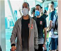 بعثة الأهلي تغادر القاهرة إلى النيجر لمواجهة الحرس الوطني