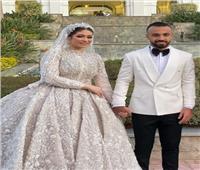 أول فيديو وصور من حفل زفاف أفشة