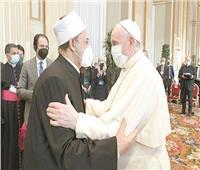 حصاد زيارة الإمام الأكبر لروما| لقاءات مع قادة الأديان.. وميثاق حول التعليم