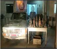 القبض على 6 عناصر إجرامية بـ45 طربة حشيش و44 تمثالًا أثريًا
