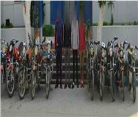 عصابة إجرامية وراء سرقة الدراجات النارية ببني سويف