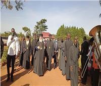 البابا ثيودروس يزور أسقفية جولو بأوغندا