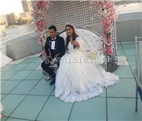 في غياب أشقاءه.. شقيق ياسمين صبري يحتفل بزفافه |صور