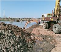 «الجيزة» تزيل ٣١ حالة تعديات على حرم النيل وأراضي زراعية وبناء مخالف  صور