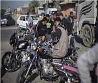 تحرير 1000 مخالفة لقائدي الدراجات النارية لعدم ارتداء الخوذة