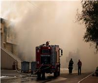 اندلاع حريق هائل بأحد المراكز التجارية في إسرائيل.. فيديو