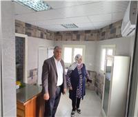 نائب رئيس جامعة الأزهر يتابع تجهيزات العيادة الطبية بكلية طب البنات