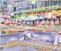 «عرائس وحلوى ودباديب» فى احتفال «السيدة» بالمولد النبوى