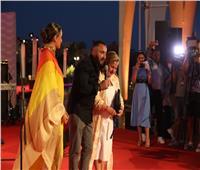 أحمد السقا يدعم زوجته.. والنجوم يشاركون في تكريم محمد الصغير بمهرجان الجونة| صور