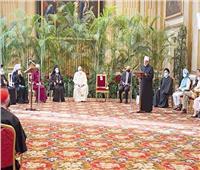 بمشاركة شيخ الأزهر l قادة الأديان حول العالم يواجهون «تغير المناخ»