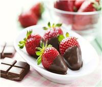 جددي حلوياتك.. شوكولاته بالفراولة