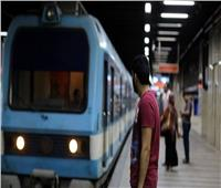 صعود أدخنة من قطار مترو بالخط الأول.. وإخلائه من الركاب